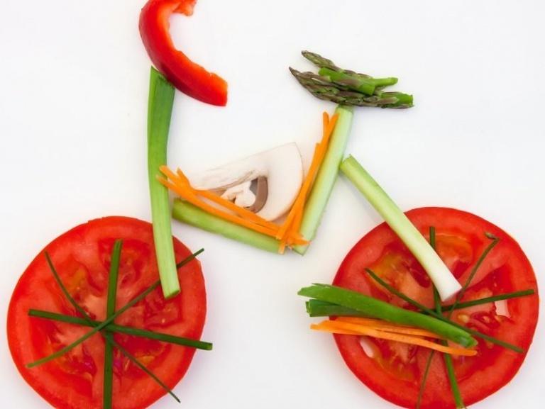 їстівний велосипед
