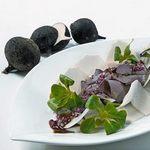 салат з чорної редьки