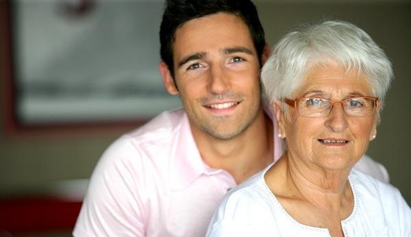 спілкування з дідусем і бабусею