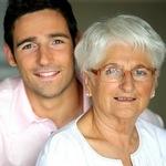 баба з онуком