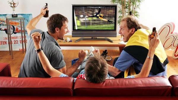 футбольні матчі по телевізору