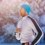 бегать зимой