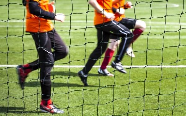 футбол разминка