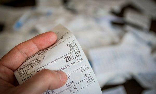 касові чеки
