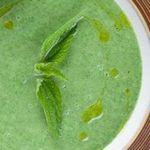 крем-суп із кропиви